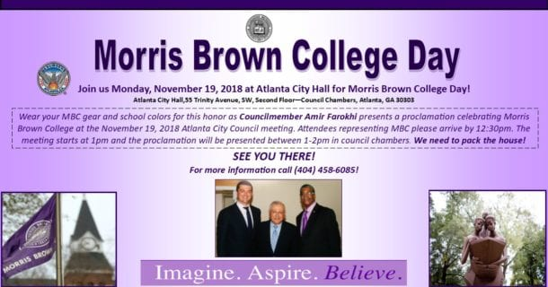 Home Page - Morris Brown College National Alumni Association